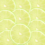 Lemon lime citrus fruit slice as background Royalty Free Stock Photography
