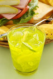 Lemon And Lime Drink Stock Photography