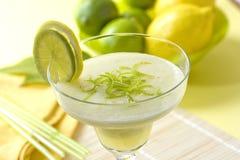 Lemon and lime drink Stock Photography