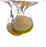 Lemon Lime Flavor Stock Images