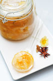 Lemon and lime jam Stock Photography