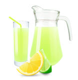 Lemon-lime juice Royalty Free Stock Photography