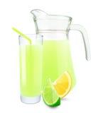 Lemon-lime juice Stock Image