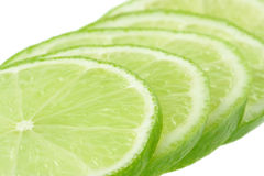 Lemon lime slices Royalty Free Stock Photography