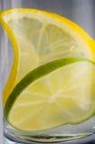 Lemon lime water Stock Photo