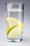 Lemon lime water Stock Photo