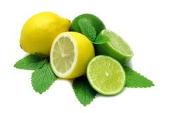 Lemon and Limes Stock Image