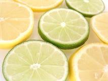 Lemon and limes Stock Photography