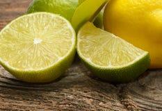 Lemon and limes Royalty Free Stock Image