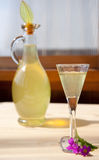 Lemon liqueur Royalty Free Stock Photos