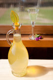 Lemon liqueur Stock Image