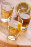 Lemon liqueur Royalty Free Stock Images