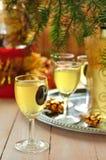 Lemon Liqueur Royalty Free Stock Photography