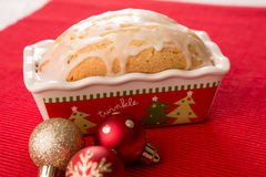 Lemon Loaf Christmas Gift Stock Photography