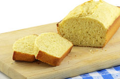Lemon loaf Stock Photo