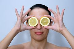 Lemon look Stock Images