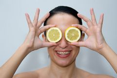Lemon look Royalty Free Stock Photography