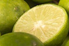 Lemon Macro Royalty Free Stock Photos