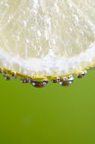 Lemon Macro Bubbles 3 Royalty Free Stock Images