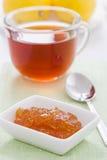 Lemon marmalade Stock Photography