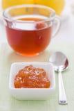 Lemon marmalade Stock Images