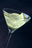 Lemon martini Stock Images