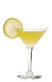 Lemon martini Stock Photography