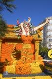 Lemon Menton 2011 celebrates Royalty Free Stock Images