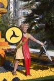 Lemon Menton 2011 celebrates Royalty Free Stock Photos