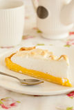 Lemon meringue Stock Photo