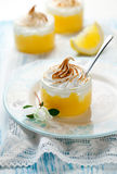 Lemon Meringue Dessert Stock Images