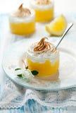 Lemon Meringue Dessert Stock Images