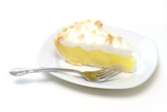 Lemon Meringue Pie royalty free stock images
