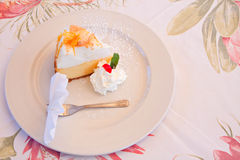 Lemon meringue pie Royalty Free Stock Photo