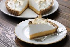 Free Lemon Meringue Pie Stock Photography - 33509412