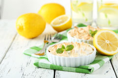 Free Lemon Meringue Pie Stock Photo - 52670380
