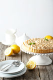 Lemon meringue pie Royalty Free Stock Image