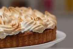 Lemon meringue pie Royalty Free Stock Images