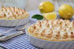 Lemon Meringue Pie Stock Images