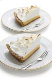 Lemon meringue pie Stock Photo