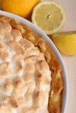 Lemon meringue tart Stock Image