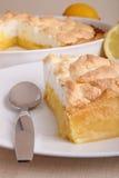 Lemon meringue tart Stock Photo