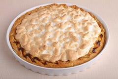 Lemon meringue tart Royalty Free Stock Photography