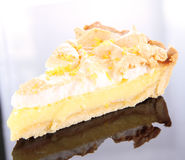 Lemon Meringue Tart Royalty Free Stock Image