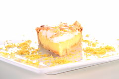 Lemon Meringue Tart Royalty Free Stock Photography