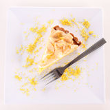 Lemon Meringue Tart Stock Photos