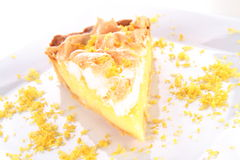 Lemon Meringue Tart Stock Image