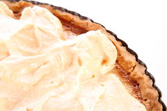 Lemon Meringue Tart Stock Photo