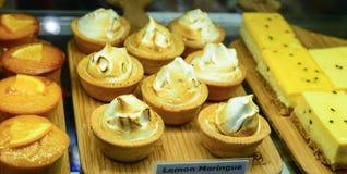 Lemon meringue Royalty Free Stock Images