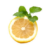 Lemon and mint Royalty Free Stock Photography